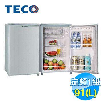 加入會員再享優惠! ★贈599點★東元 TECO 91公升 單門小冰箱 R1061SC【全省免費安裝】