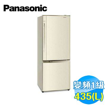 加入會員再享優惠! ★贈2439點★國際 Panasonic 435公升 雙門變頻冰箱 NR-B435HV-N【全省免費安裝】