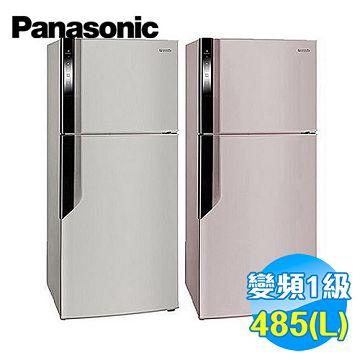 國際 Panasonic 485公升 雙門變頻冰箱 NR-B486GV【全省免費安裝】