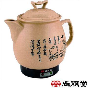 加入會員再享優惠! ★尚朋堂 陶瓷藥膳壺 3.8公升 SS-3800