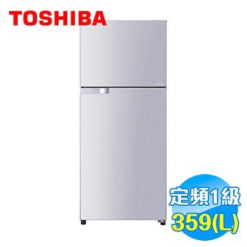 加入會員再享優惠! ★Toshiba 東芝 359公升 雙門ECO節能系列冰箱 GR-T41TBZ【全省免費安裝】