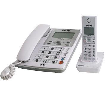 加入會員再享優惠! ★贈219點★三洋 SANYO DECT 數位式來電顯示 DCT-8906