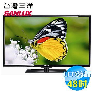加入會員再享優惠! ★三洋 SANYO 48吋 LED 液晶顯示器 SMT-48MV6【全省免費安裝】