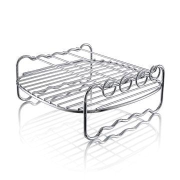 加入會員再享優惠! ★贈79點★飛利浦 Philips 氣炸鍋專用雙層烤架 HD9904