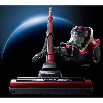 加入會員再享優惠! ★贈2349點★日立 HITACHI 日本進口420W渦輪吸塵器 CVSX950T