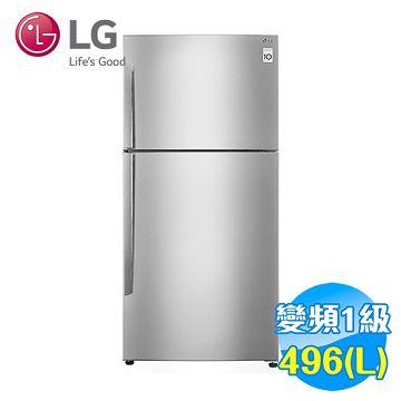 加入會員再享優惠! ★LG 496公升 Smart 變頻 上下雙門冰箱 GN-B490SV【全省免費安裝】