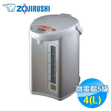 加入會員再享優惠! ★贈159點★象印 Zojirushi 4L 微電腦電動熱水瓶 CD-WBF40