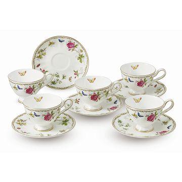 加入會員再享優惠! ★贈品出清 骨瓷咖啡杯組 5入裝 SP-1511