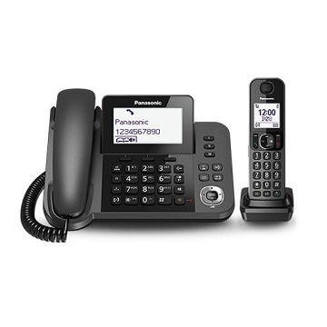 加入會員再享優惠! ★贈449點★國際 Panasonic 子母雙機數位無線電話 KX-TGF310TWM