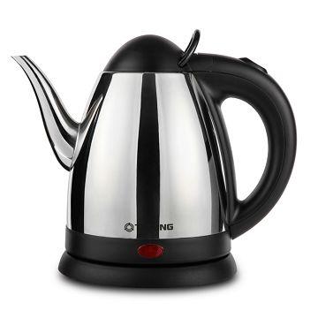 加入會員再享優惠! ★大同 Tatung 0.8L 不鏽鋼 電茶壺 TEK-0815S