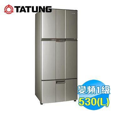 加入會員再享優惠! ★大同 Tatung 530公升變頻三門冰箱 TR-C630VP-AG【全省免費安裝】