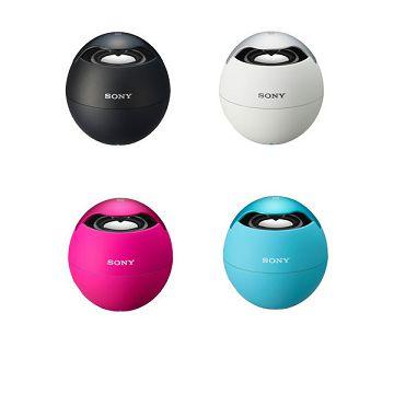 加入會員再享優惠! ★SONY NFC藍牙球型喇叭 SRS-BTV5