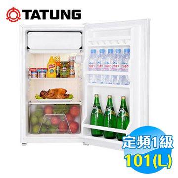 加入會員再享優惠! ★贈640點★大同 Tatung 101公升單門冰箱 TR-101GT【全省免費安裝】