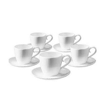 加入會員再享優惠! ★TIAMO白瓷咖啡杯組