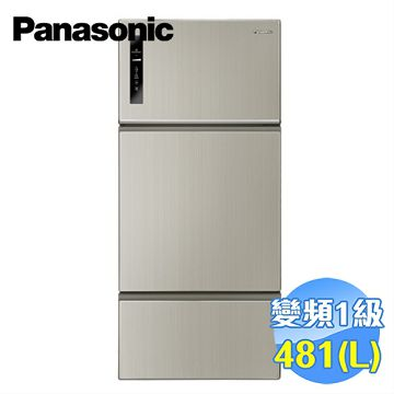 加入會員再享優惠! ★國際 Panasonic 481公升無邊框三門變頻冰箱 NR-C488TV【全省免費安裝】