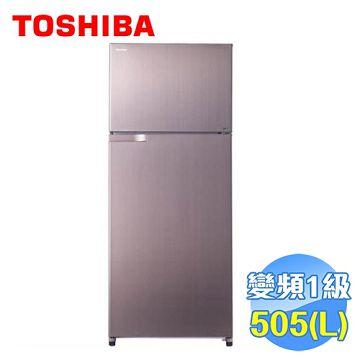 加入會員再享優惠! ★Toshiba 東芝 505公升雙門變頻冰箱 GR-H55TBZ【全省免費安裝】