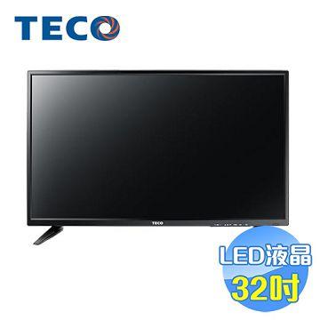 加入會員再享優惠! ★贈649點★東元 TECO 32吋LED液晶電視 TL32K1TRE