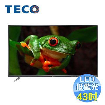 東元 TECO 43吋低藍光液晶電視 TL43K1TRE