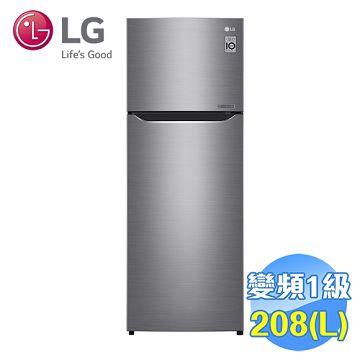 加入會員再享優惠! ★LG 208公升雙門變頻冰箱 GN-L297SV【全省免費安裝】