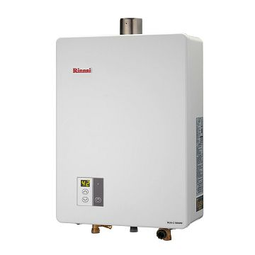 加入會員再享優惠! ★林內 Rinnai 16公升數位恆溫強排熱水器 MUA-C1609WF【全省免費安裝】