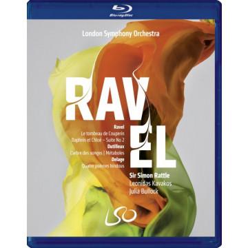 拉威爾、杜提厄&德拉傑/拉圖指揮LSO (BD+DVD)