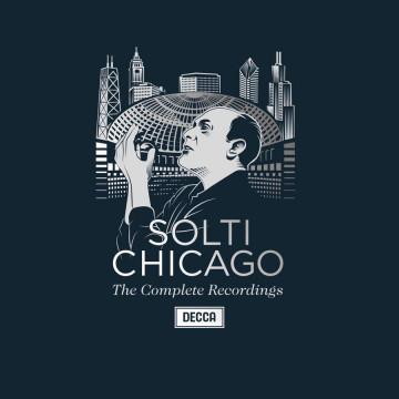 蕭提&芝加哥交響樂團 錄音全集 108CD