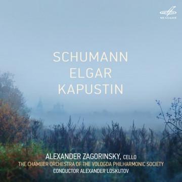 舒曼、艾爾加、卡普斯汀:大提琴協奏曲 / 札戈林斯基(大提琴)