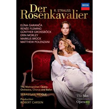 史特勞斯:玫瑰騎士 2DVD /弗萊明(女高音)&嘉蘭莎(次女高音)、威格指揮大都會歌劇院