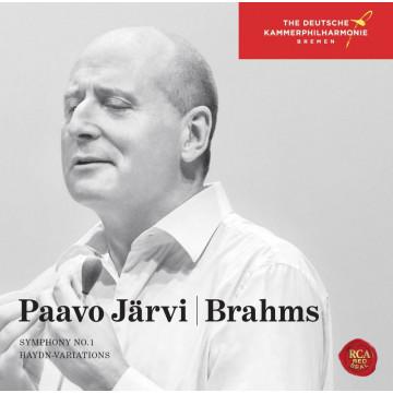 布拉姆斯:第一號交響曲、海頓主題變奏曲/帕佛‧賈維&布萊梅德意志室內愛樂管弦樂團