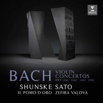 巴哈:第一、二、五號小提琴協奏曲,雙小提琴協奏曲/佐藤俊介〈小提琴〉瓦洛娃〈小提琴、指揮〉