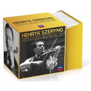 環球小提琴錄音套裝大全集 (44 CD)/謝霖(Henryk Szeryng)
