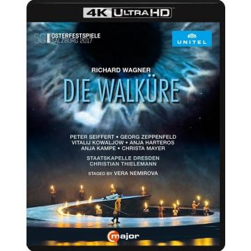 華格納:女武神(4K-ULTRA HD BD)/提勒曼、德勒斯登國家管弦樂團