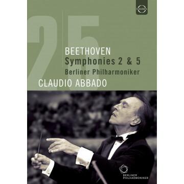 Beethoven: Symphonies Nos. 2 & 5 (DVD)