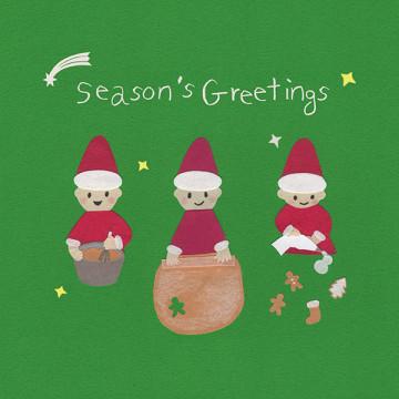 季節祝福Season's Greetings