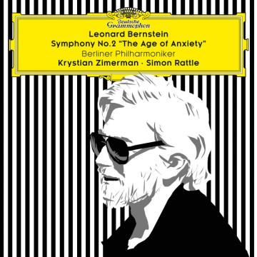 伯恩斯坦:第二號交響曲「焦慮的年代」 (黑膠)/齊瑪曼、拉圖指揮柏林愛樂