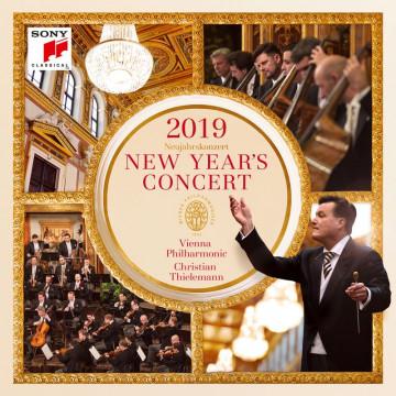 2019維也納新年音樂會【2CD】/克里斯提安‧提勒曼&維也納愛樂