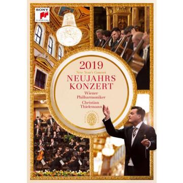 2019維也納新年音樂會【DVD】/克里斯提安‧提勒曼&維也納愛樂