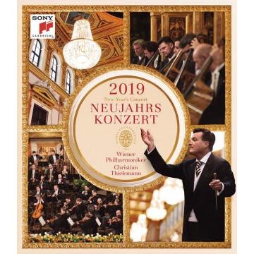 2019維也納新年音樂會【BD】/克里斯提安‧提勒曼&維也納愛樂