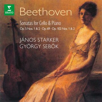 經典再現─貝多芬:五首大提琴奏鳴曲  2CD/史塔克-大提琴、舍比奧克-鋼琴