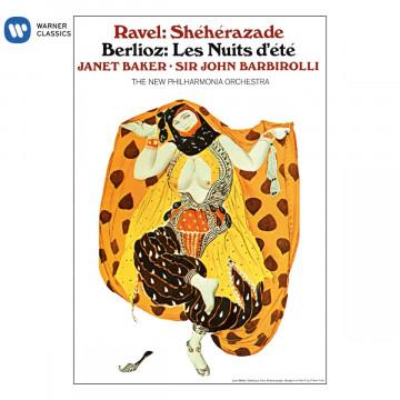 經典再現─拉威爾:天方夜譚、白遼士:夏夜/珍娜‧貝克〈次女高音〉巴畢羅里〈指揮〉新愛樂管弦