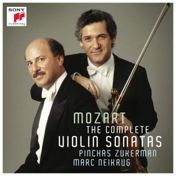 莫札特:莫札特小提琴奏鳴曲 6CD /祖克曼