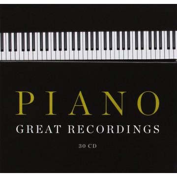 偉大鋼琴錄音 30CD