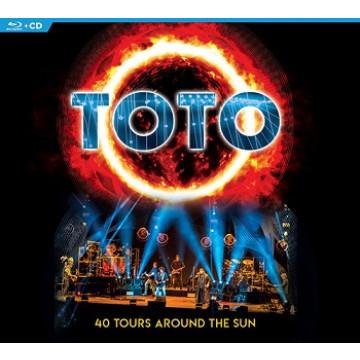 烈日之旅40周年世界巡迴演唱會2CD+藍光