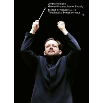 莫札特:交響曲NO.40、柴可夫斯基:交響曲NO.6 (DVD)/安德里斯·尼爾森斯