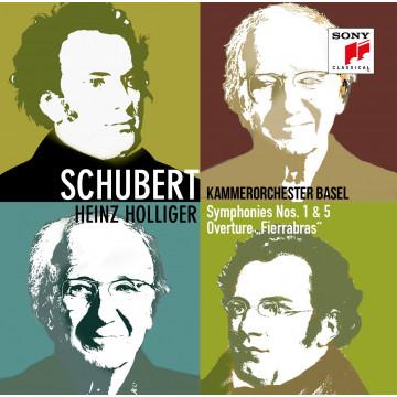 舒伯特:第一號&第五號交響曲、《費拉布拉斯》序曲/巴塞爾室內管弦樂團&霍利格