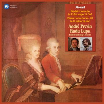 莫札特:雙鋼琴協奏曲、第二十號鋼琴協奏曲 (2LP) /魯普、普列文〈鋼琴&指揮〉