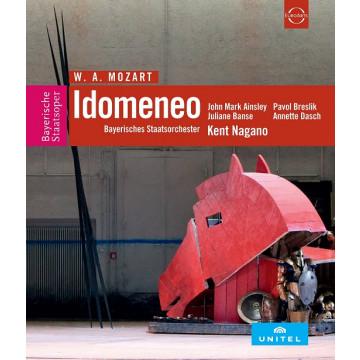 莫札特:歌劇《伊多曼尼奧》2DVD/肯特長野〈指揮〉巴伐利亞國立管弦樂團