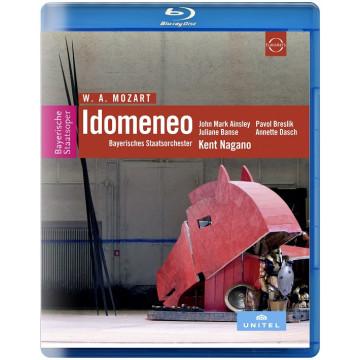 莫札特:歌劇《伊多曼尼奧》Blu-ray/肯特長野〈指揮〉巴伐利亞國立管弦樂團