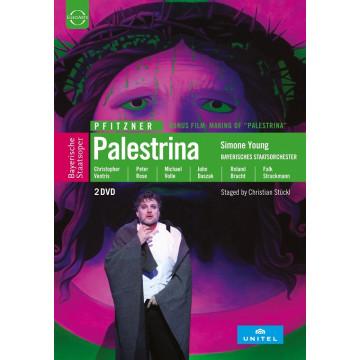 普菲茨納:歌劇《帕勒斯提那》2DVD/西蒙涅‧楊〈指揮〉巴伐利亞國立管弦樂團與巴伐利亞國立