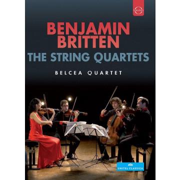 布瑞頓弦樂四重奏全集  DVD/貝爾琪亞弦樂四重奏